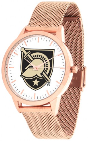 Army Black Knights Rose Mesh Statement Watch