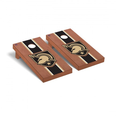 Army Black Knights Rosewood Stained Cornhole Game Set