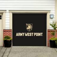 Army Black Knights Single Garage Door Banner