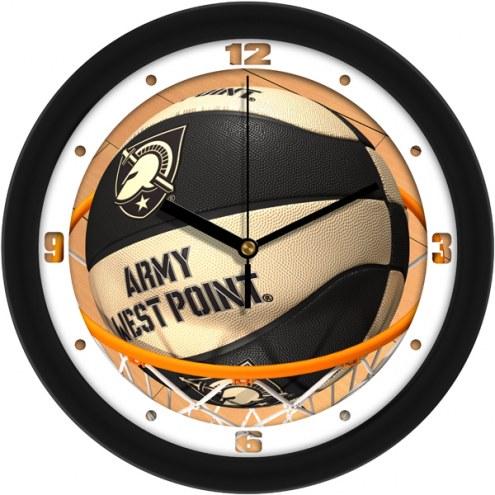 Army Black Knights Slam Dunk Wall Clock
