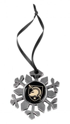 Army Black Knights Snow Flake Ornament