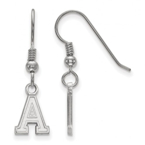 Army Black Knights Sterling Silver Extra Small Dangle Earrings