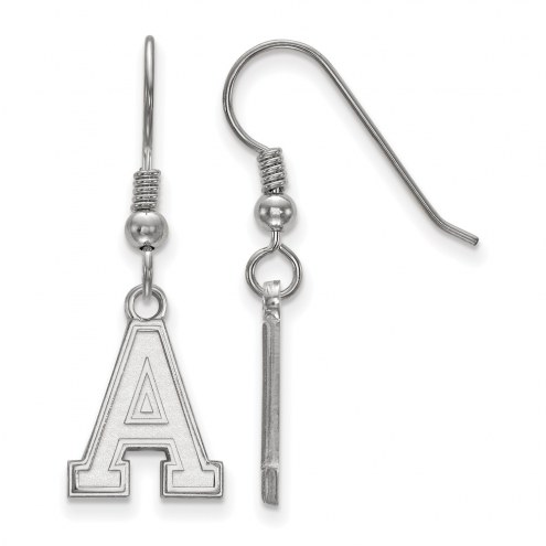 Army Black Knights Sterling Silver Small Dangle Earrings