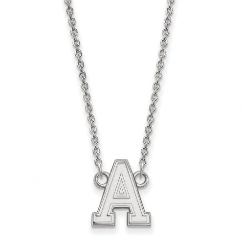 Army Black Knights Sterling Silver Small Pendant Necklace