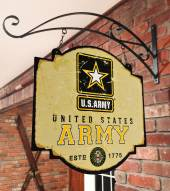 Army Black Knights Tavern Sign
