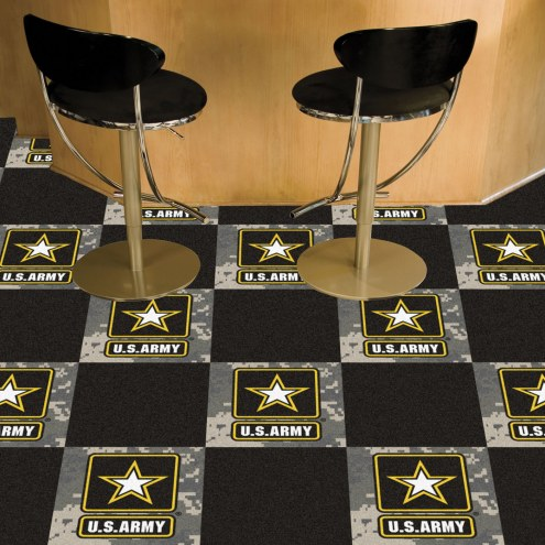 Army Black Knights Team Carpet Tiles