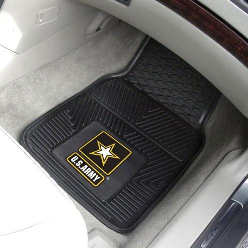 Army Black Knights Vinyl 2-Piece Car Floor Mats