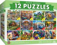Artist Gallery Bundle 12-Pack Puzzles