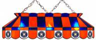 "Houston Astros MLB Team 40"" Rectangular Stained Glass Shade"