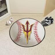ASU Sun Devils Baseball Rug