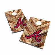 Atlanta Braves 2' x 3' Cornhole Bag Toss