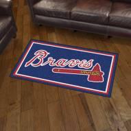 Atlanta Braves 3' x 5' Area Rug
