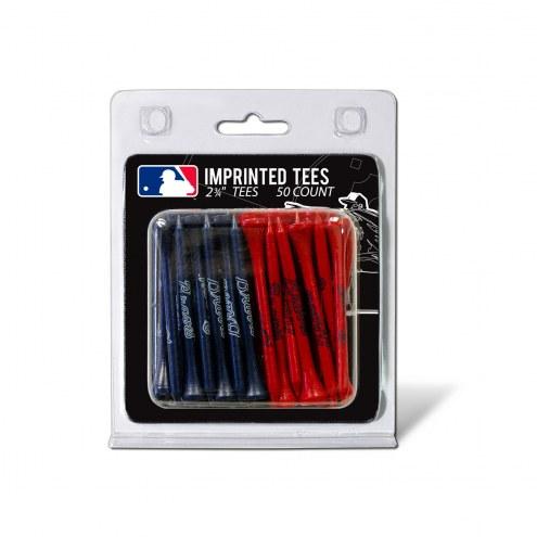 Atlanta Braves 50 Golf Tee Pack