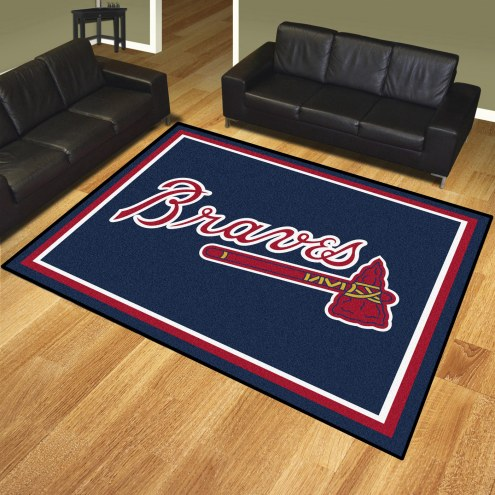 Atlanta Braves 8' x 10' Area Rug