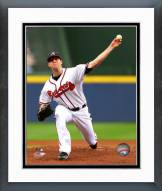Atlanta Braves Alex Wood Action Framed Photo