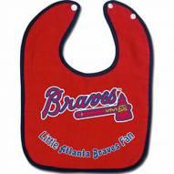 Atlanta Braves All Pro Little Fan Baby Bib