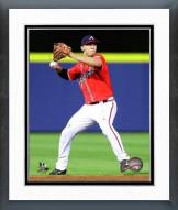 Atlanta Braves Andrelton Simmons Action Framed Photo