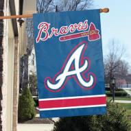 Atlanta Braves Applique 2-Sided Banner Flag