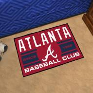 Atlanta Braves Baseball Club Starter Rug