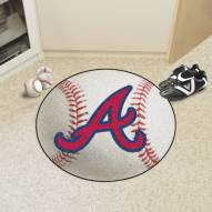 Atlanta Braves Baseball Rug