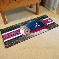Atlanta Braves Baseball Runner Rug