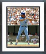 Atlanta Braves Chris Chambliss batting Framed Photo
