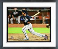 Atlanta Braves Christian Bethancourt Action Framed Photo