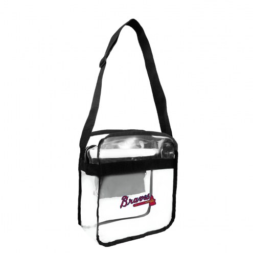 Atlanta Braves Clear Crossbody Carry-All Bag