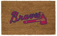 Atlanta Braves Colored Logo Door Mat