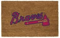 Atlanta Braves Colored Logo Door Mat