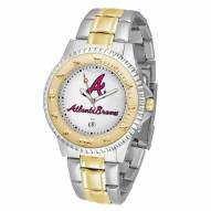 Atlanta Braves Competitor Two-Tone Men's Watch