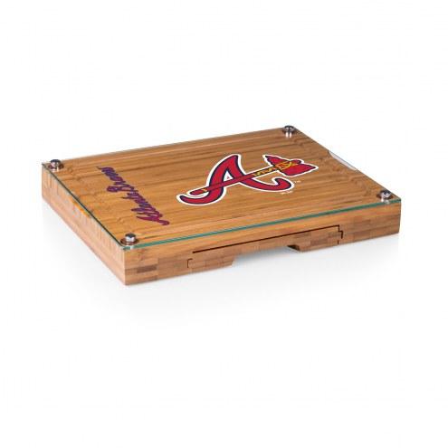 Atlanta Braves Concerto Bamboo Cutting Board