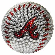 Atlanta Braves Swarovski Crystal Baseball