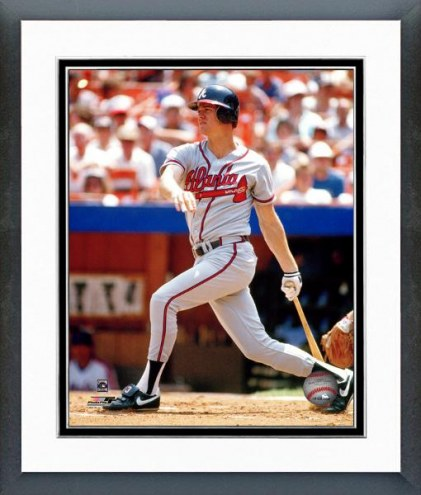 Atlanta Braves Dale Murphy Action Framed Photo