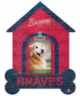 Atlanta Braves Dog Bone House Clip Frame