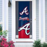 Atlanta Braves Door Banner