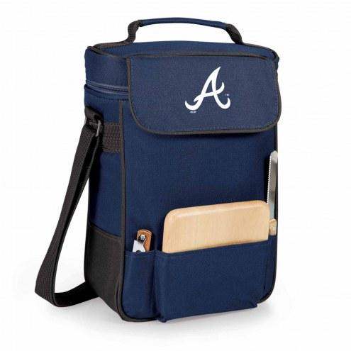 Atlanta Braves Duet Insulated Wine Bag