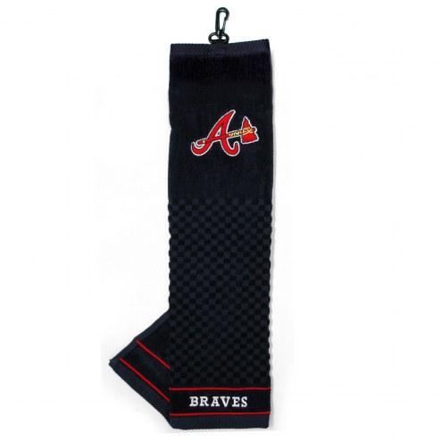 Atlanta Braves Embroidered Golf Towel