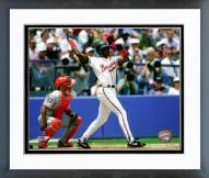 Atlanta Braves Fred McGriff 1994 Action Framed Photo