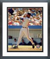 Atlanta Braves Fred McGriff Action Framed Photo
