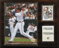 "Atlanta Braves Freddie Freeman 12 x 15"" Player Plaque"
