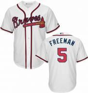 Atlanta Braves Freddie Freeman Replica Home Baseball Jersey
