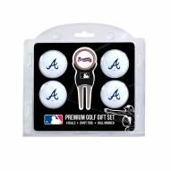 Atlanta Braves Golf Ball Gift Set