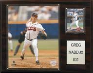 "Atlanta Braves Greg Maddux 12 x 15"" Player Plaque"