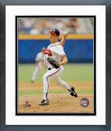 Atlanta Braves Greg Maddux Action Framed Photo