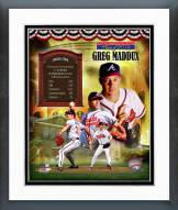 Atlanta Braves Greg Maddux MLB HOF Legends Composite Framed Photo