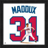 Atlanta Braves Greg Maddux Uniframe Framed Jersey Photo