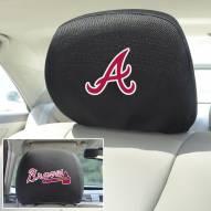 Atlanta Braves Headrest Covers