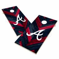Atlanta Braves Herringbone Cornhole Game Set