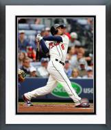 Atlanta Braves Jace Peterson Action Framed Photo